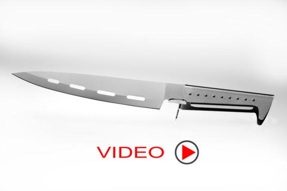 coltello professionale di alto design