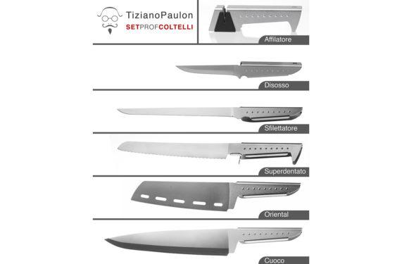 set coltelli da cucina professionali
