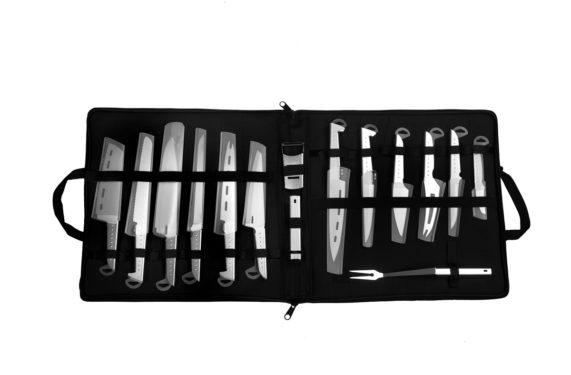 set di coltelli professionali da cucina